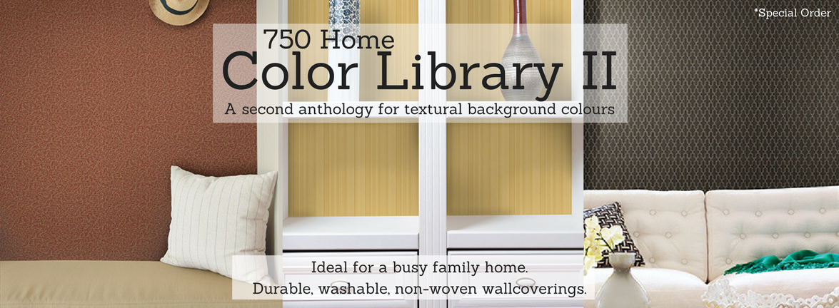 Color Library II Durable Wallcoverings