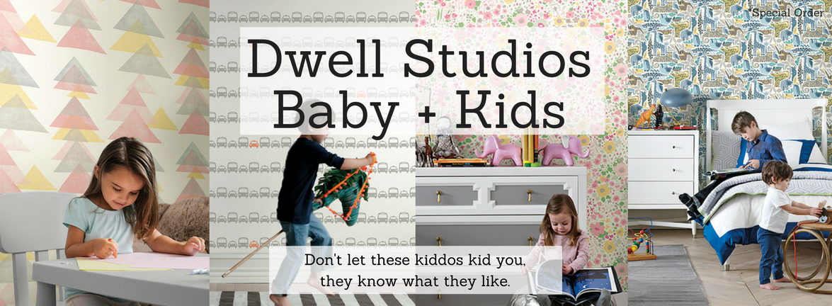 Dwell Studios Baby + Kids Wallcoverings and Removable Stickers