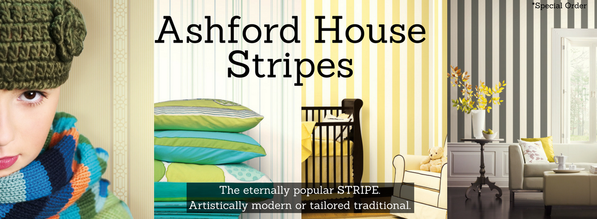 Ashford House Stripes Wallpaper