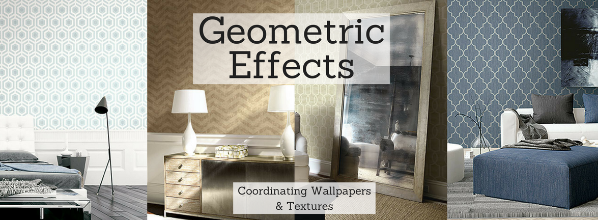 Geometric Effects Wallpaper Pattern Book