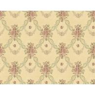 Vine Interlock Fiori Wallpaper