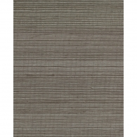 Metallic Grey Grasscloth Wallpaper