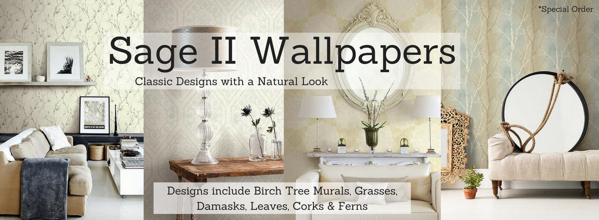Sage II Wallpaper Pattern Book
