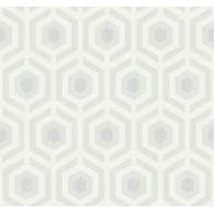 Hexagon Lattice Wallpaper