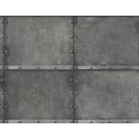 Metal Panel Wallpaper