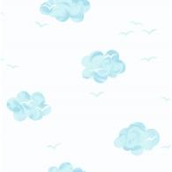 Puffy Sky Wallpaper