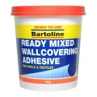 Bartoline 1.0kg Ready Mixed Wallcovering Adhesive