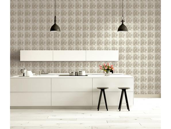Ornamental Wall Wallpaper Room Satting