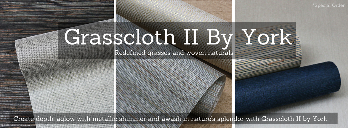 Grasscloth II by York