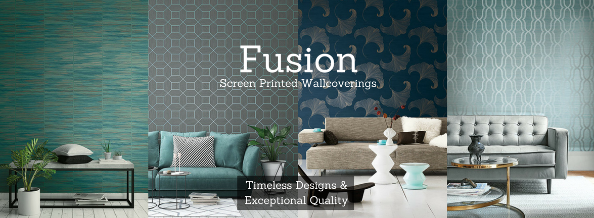 Fusion Screen Printed Wallcoverings