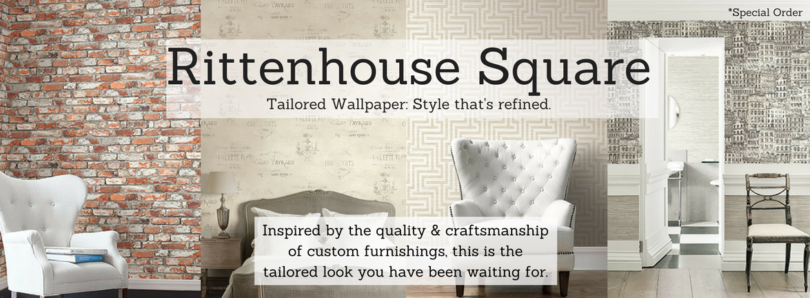 Rittenhouse Square Tailored Wallcoverings