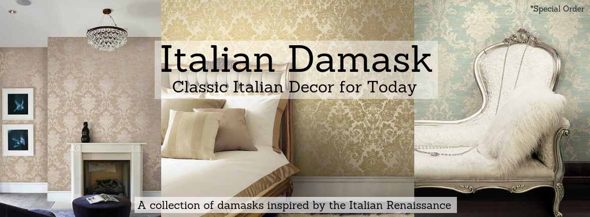Italian Damask Pattern Book