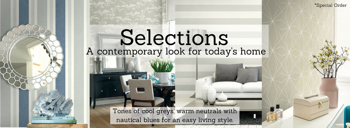 Selections Wallpaper Pattern Book