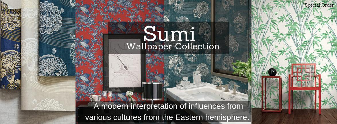 Sumi Wallpaper Pattern Book