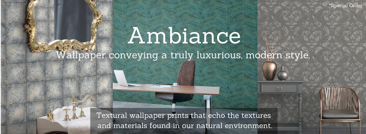 Ambiance Wallpaper Pattern Book