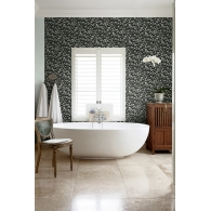 Pebbles 3D Wallpaper Room Setting