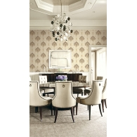 Caspia Wallpaper Room Setting
