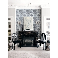 Caspia Wallpaper Room Setting