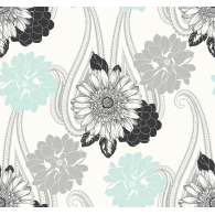 Floral Paisley Wallpaper
