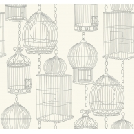 Bird Cages Wallpaper