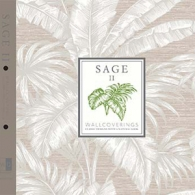 Sage II Wallpaper Pattern Book