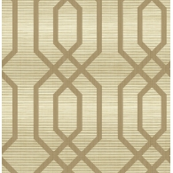 Frame on Grasscloth Grasseffects Wallpaper