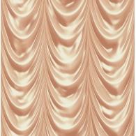 Golden Curtain 3D Wallpaper