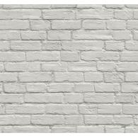 White Brick Wall 3D Wallpaper