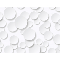 Circles 3D Wallpaper