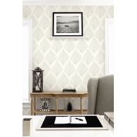 Frond Wallpaper Room Setting