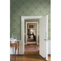 Petal Damask Wallpaper Room Setting