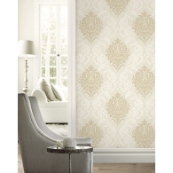 Damask 2 Wallpaper Room Setting