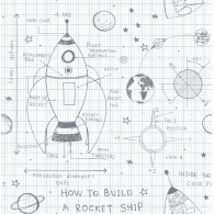 How to Build a Rocketship Wallpaper