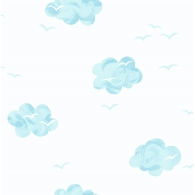 Puffy Sky Wallpaper