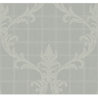 Swirl on Grid Modena Wallpaper