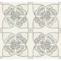 Lace Tile Wallpaper