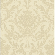Petal Damask Wallpaper