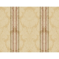 Stripe Damask Wallpaper