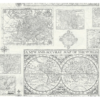 Antique Map Wallpaper