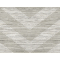 Chevron Grass Weave Textured Wallpaper