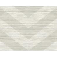 Chevron Grass Weave Textured Wallpaper