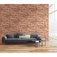 Brick Wall 3D Wallpaper Room Setting