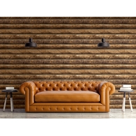 Logs 3D Wallpaper Room Setting