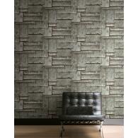 Metal Panel 3D Wallpaper Room Setting