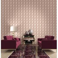 Metallic Squares 3D Wallpaper Room Setting