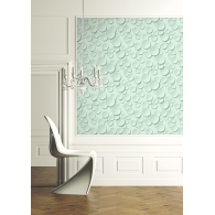 Circles Wallpaper Room Setting
