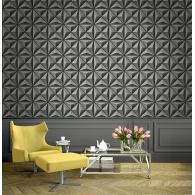 Flower Panel Wallpaper Room Setting