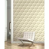 Hexagons Wallpaper Room Setting