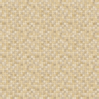 Tiny Tile Brown Natural FX Wallpaper