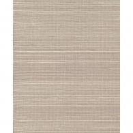 Plain Grasscloth Cream Wallpaper